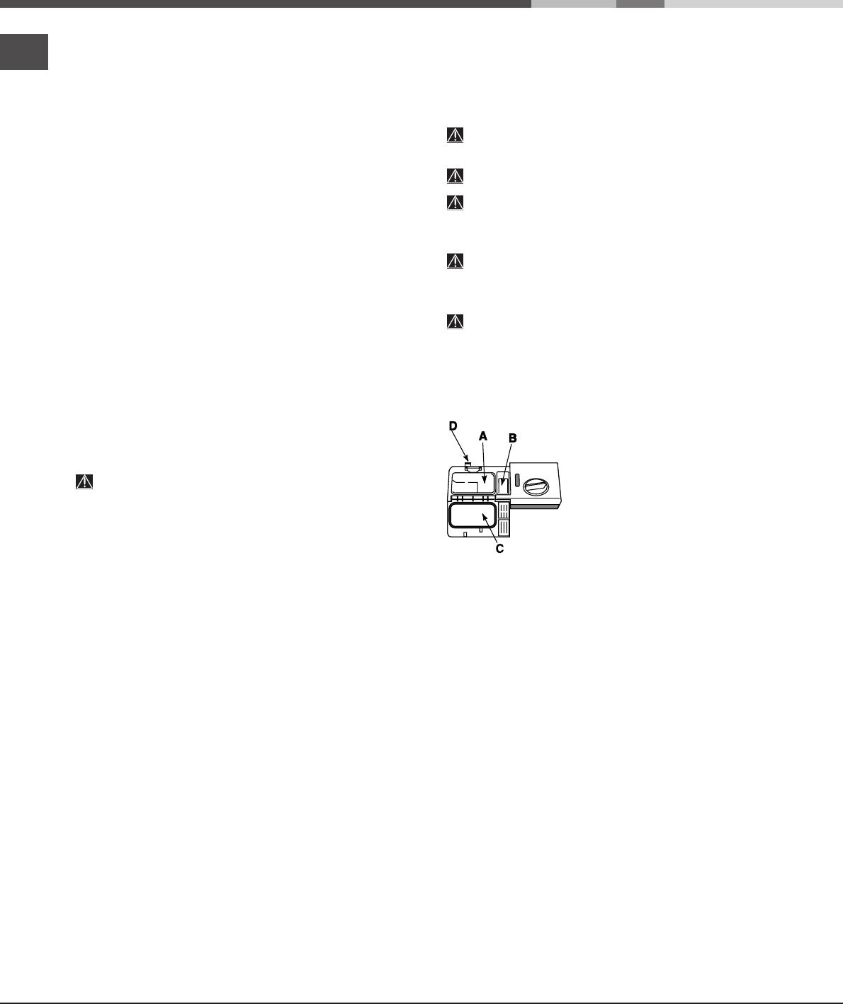 Handleiding Hotpoint-Ariston LFT 114 A (pagina 20 van 84 ...