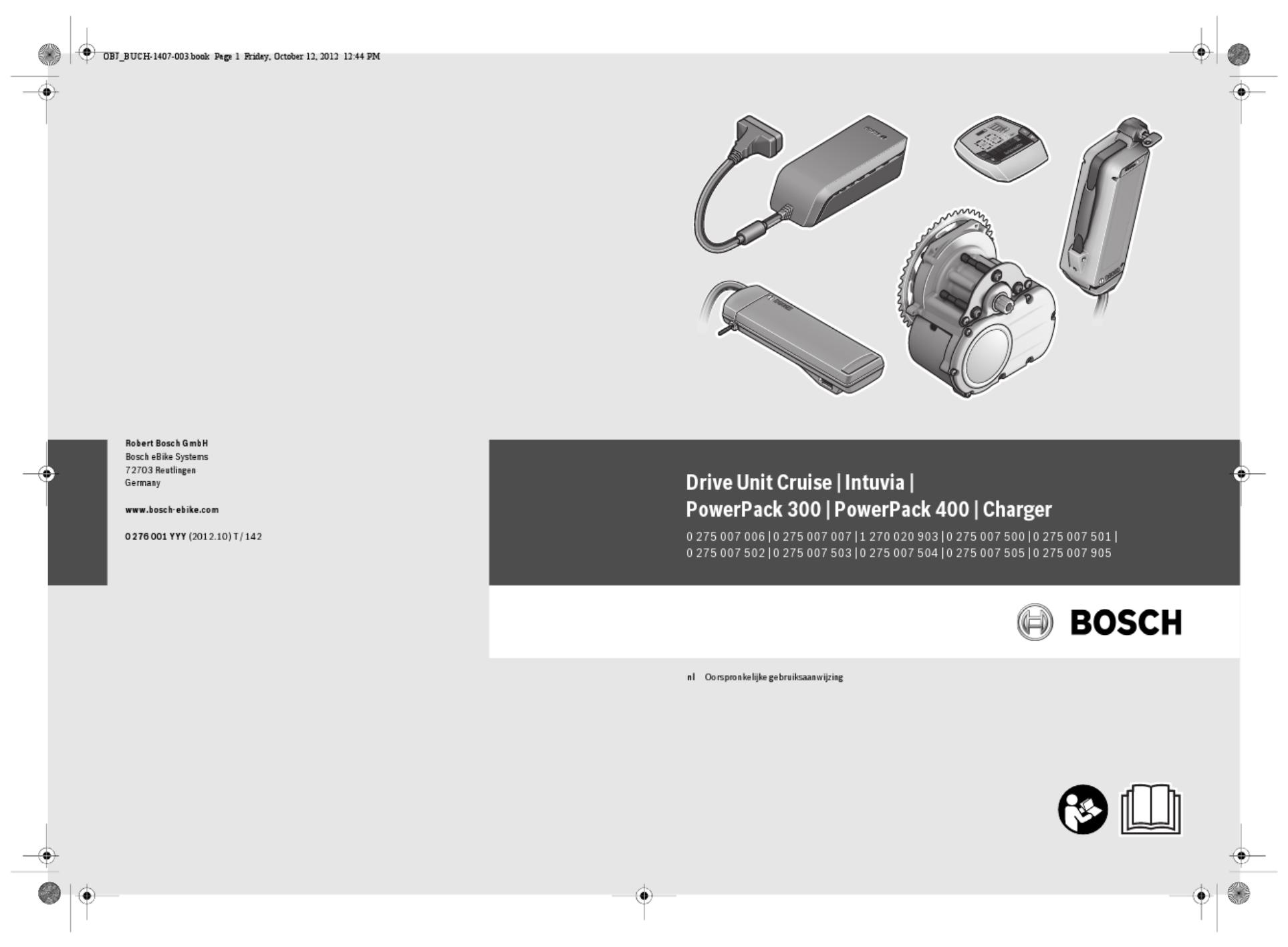 Bosch powerpack 400 handleiding