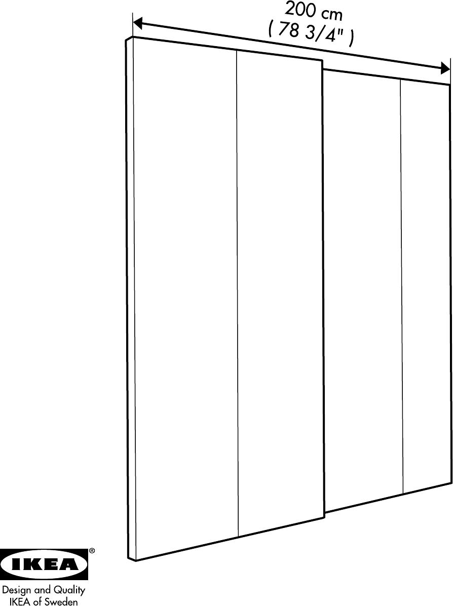 Handleiding Ikea Pax Hasvik 200 236 Pagina 32 Van 32