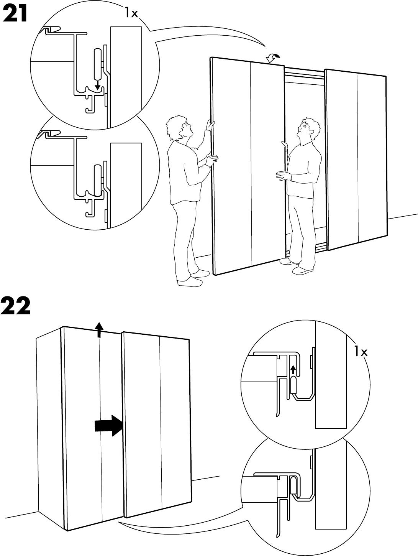Pax Handleiding Schuifdeuren.Handleiding Ikea Pax Hasvik 200 236 Pagina 25 Van 32