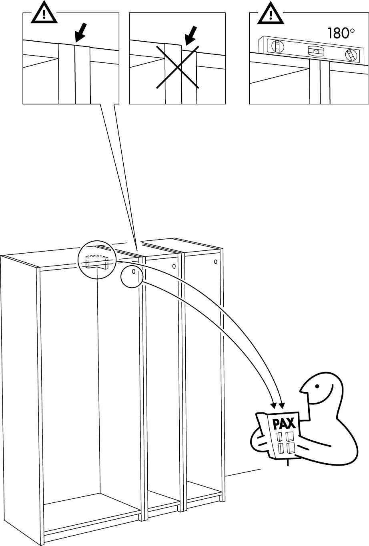 Handleiding Ikea Pax Hasvik 200 236 Pagina 7 Van 32 Dansk