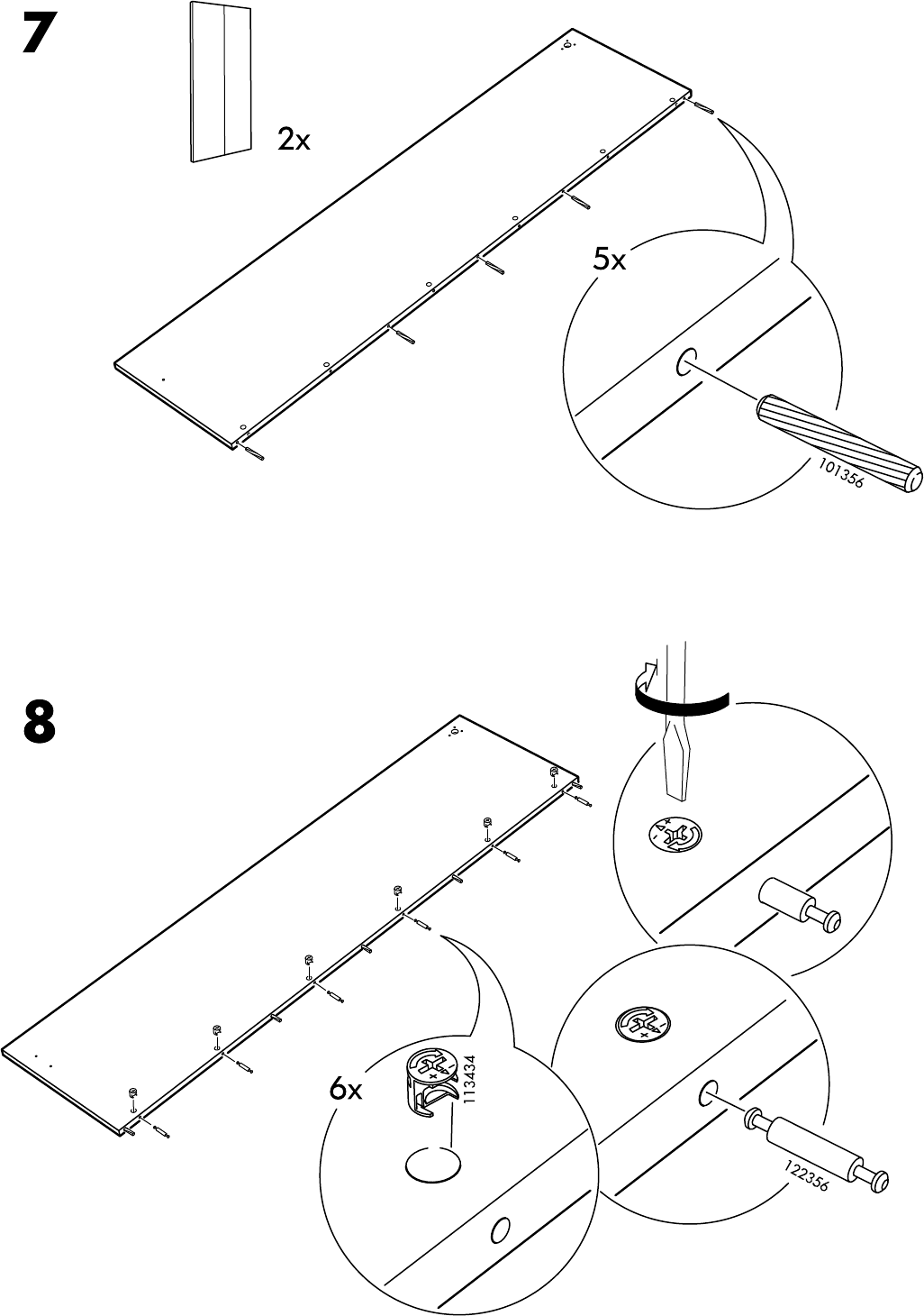 Handleiding Ikea Pax Hasvik 200 236 Pagina 10 Van 32