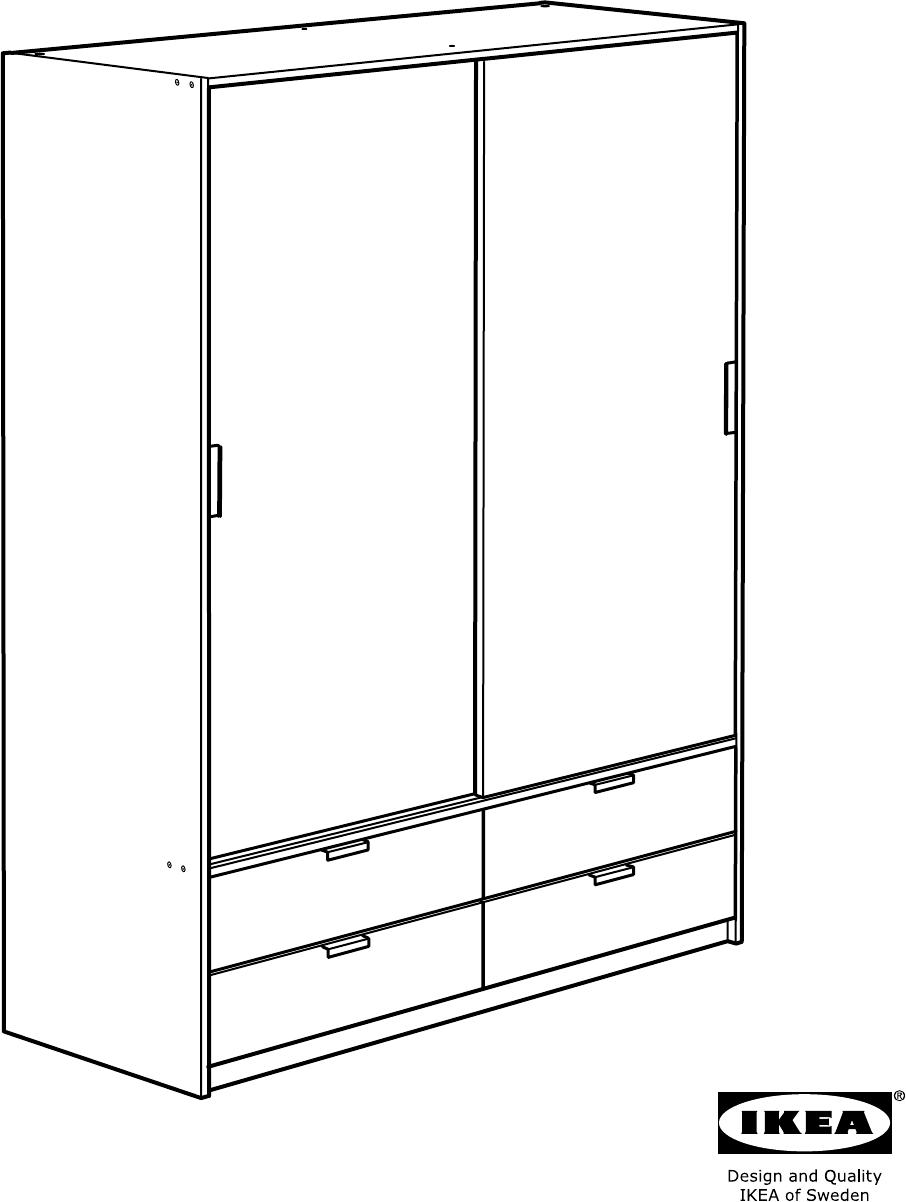 Handleiding Ikea Trysil Pagina 1 Van 44 Dansk Deutsch
