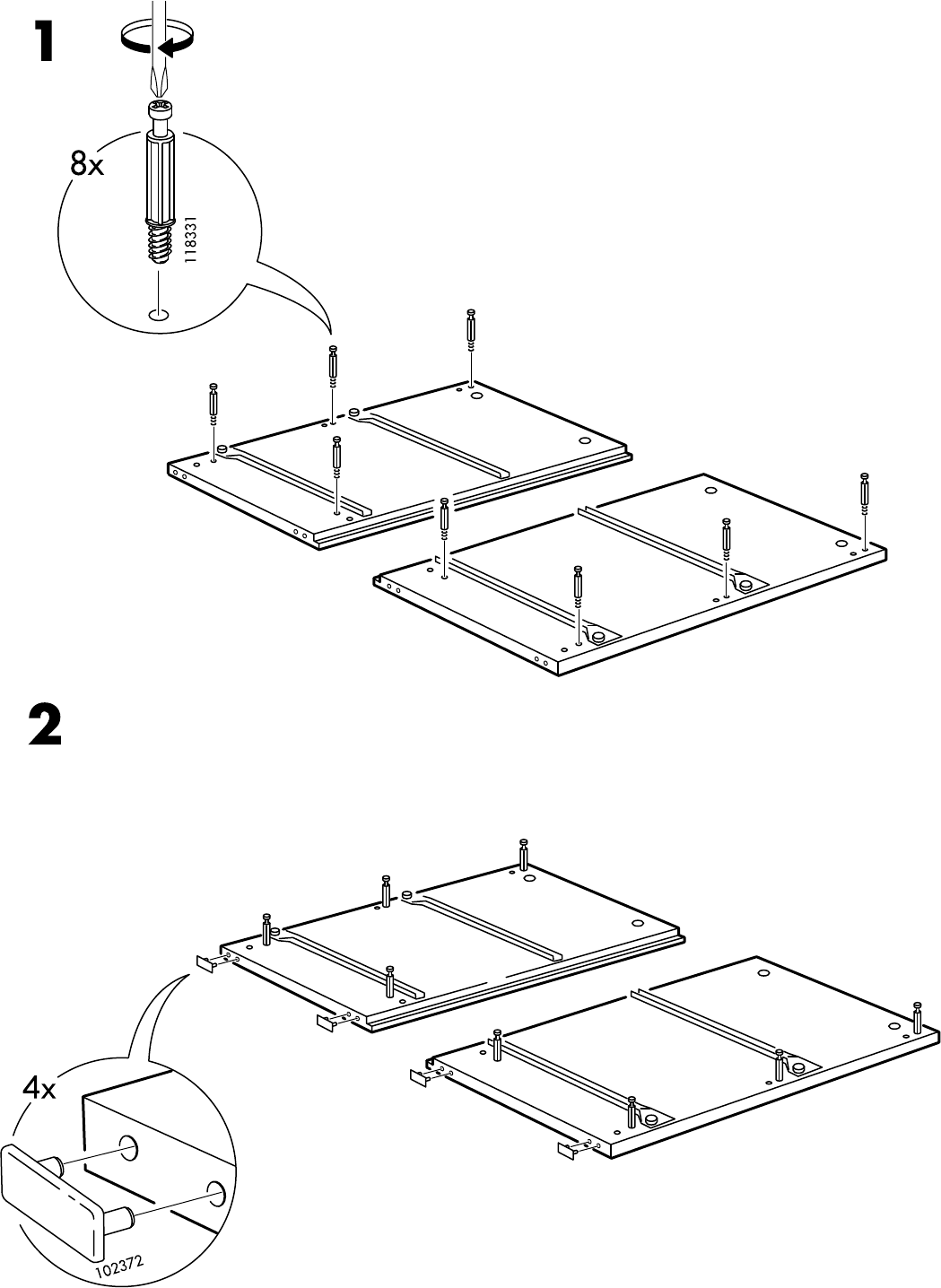 Ikea Malm Ladekast Handleiding.Handleiding Ikea Malm Ladekast 2 Lades Pagina 4 Van 16