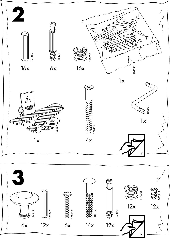 Hemnes Ladekast 3 Laden.Handleiding Ikea Hemnes Ladekast 3 Lades Pagina 4 Van 20