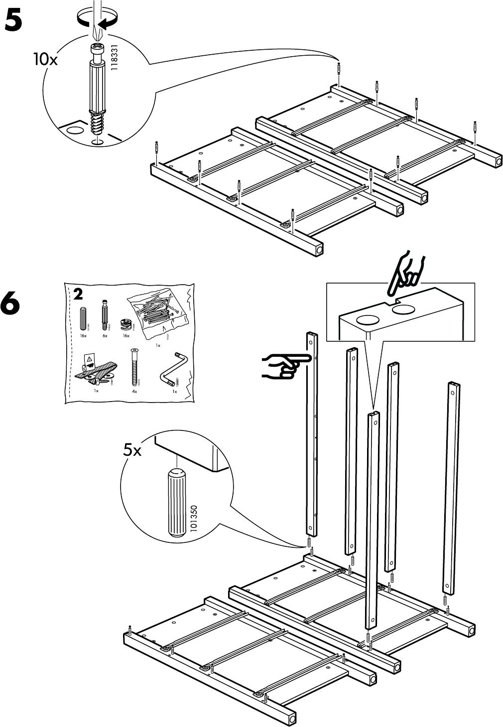 Hemnes Ladekast 3 Laden.Handleiding Ikea Hemnes Ladekast 3 Lades Pagina 7 Van 20