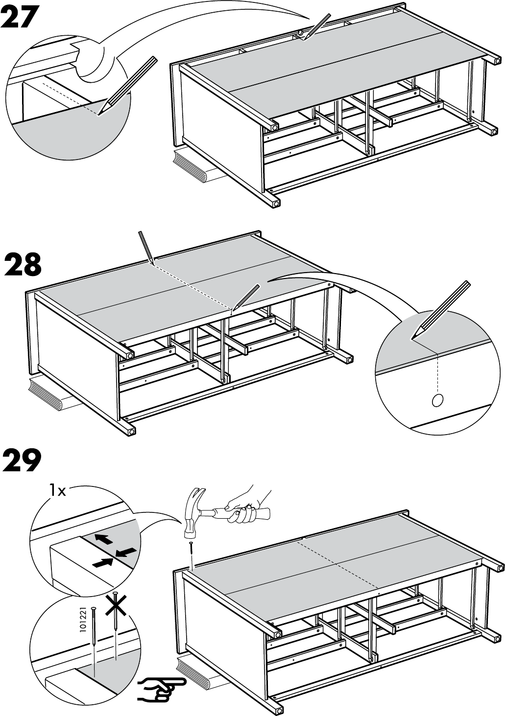 Ikea Ladekast 8 Lades.Handleiding Ikea Hemnes Ladekast 8 Lades Pagina 24 Van 32 Dansk
