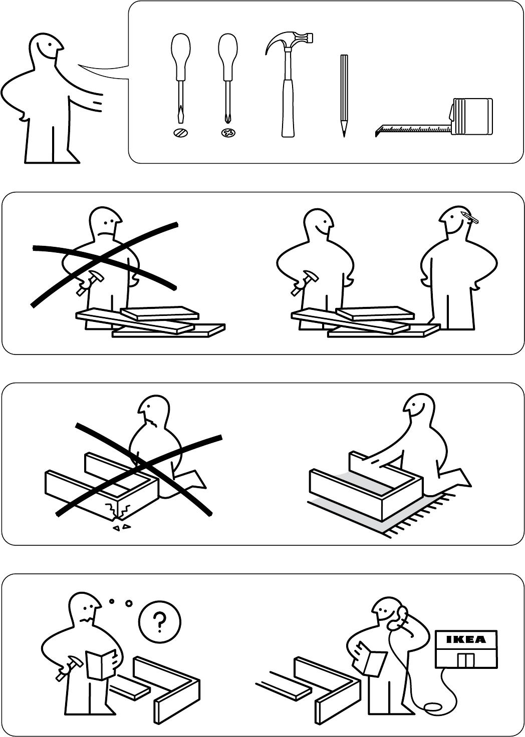 Ikea Ladekast 8 Lades.Handleiding Ikea Hemnes Ladekast 8 Lades Pagina 2 Van 32 Dansk