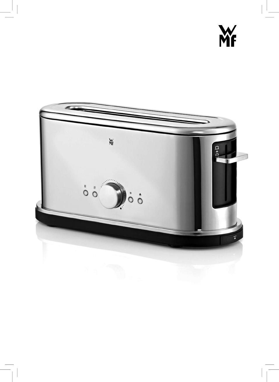 handleiding wmf lineo shine toaster pagina 1 van 64 dansk deutsch english espan l. Black Bedroom Furniture Sets. Home Design Ideas