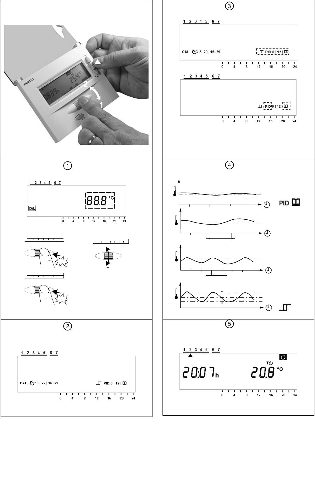 Handleiding Siemens REV16 (pagina 4 van 18) (Dansk, Deutsch, English ...