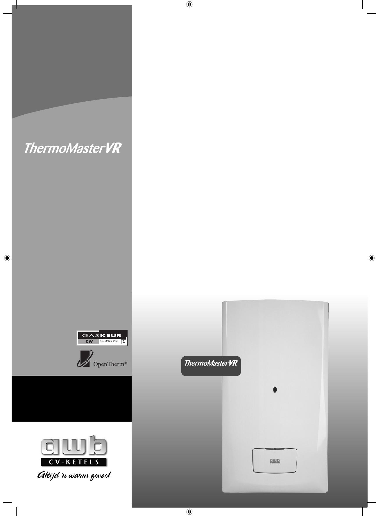 Goede Handleiding AWB Thermomaster VR 24T (pagina 1 van 24) (Nederlands) JI-82