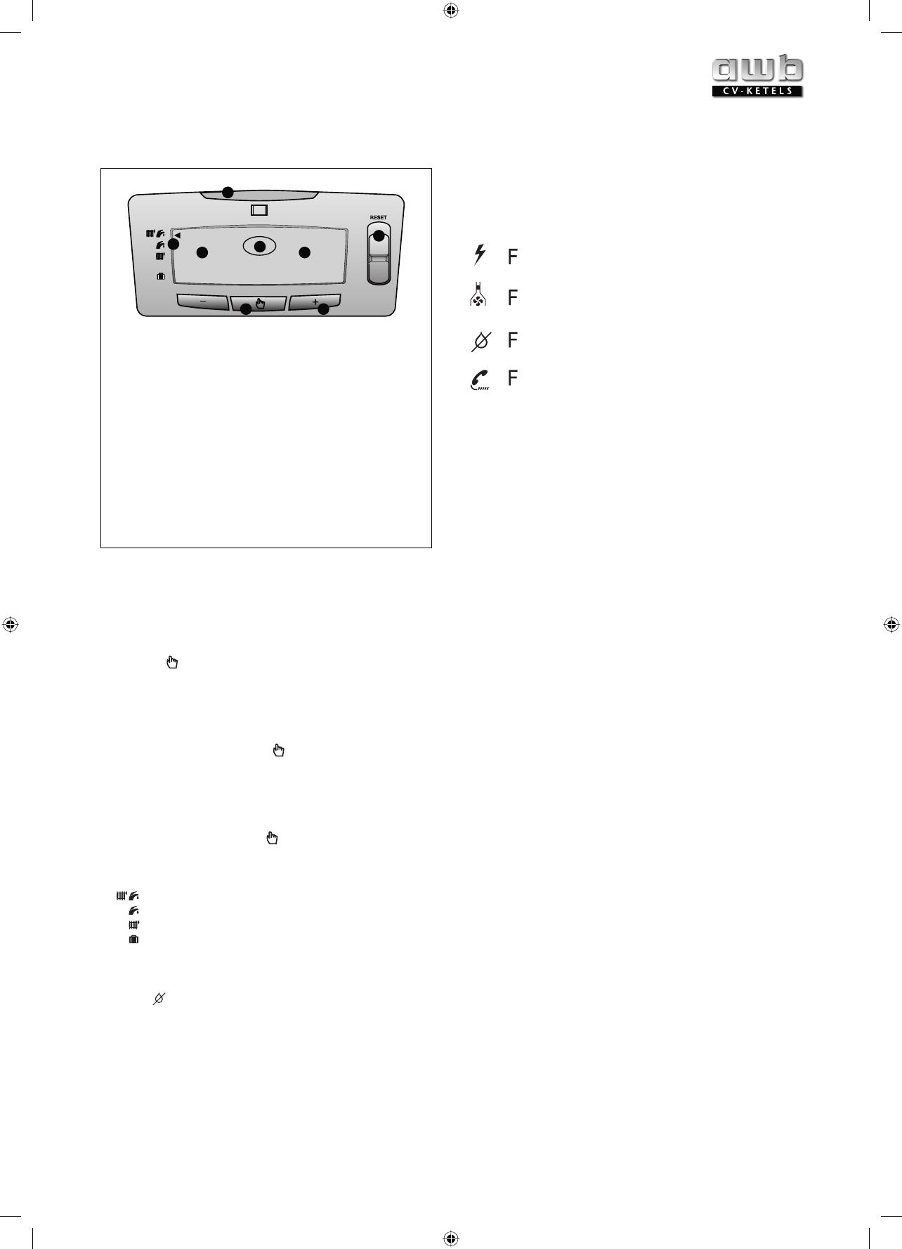 Ongekend Handleiding AWB Thermomaster VR 24T (pagina 1 van 24) (Nederlands) HR-22