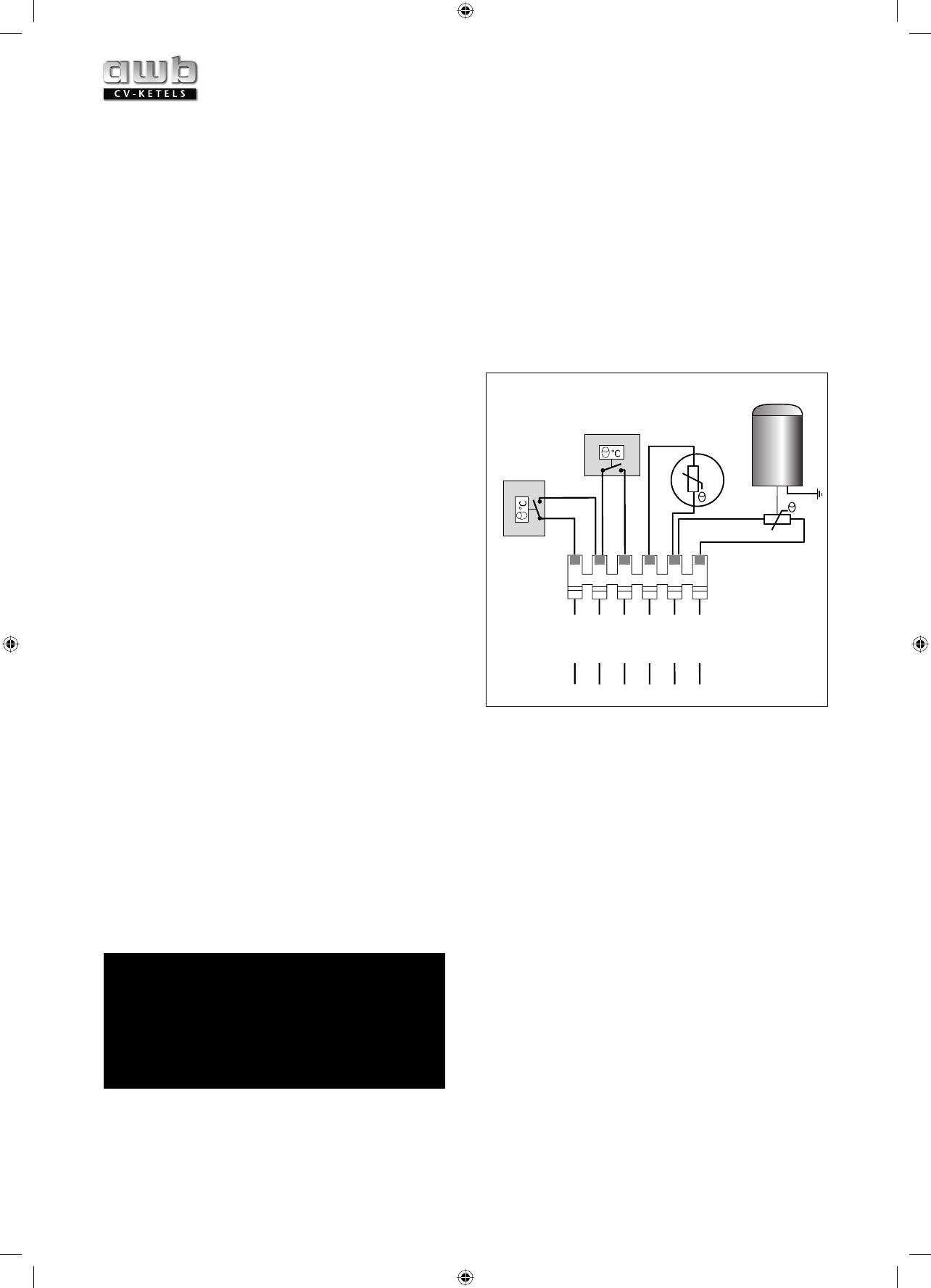 Fonkelnieuw Handleiding AWB Thermomaster VR 24 (pagina 1 van 24) (Nederlands) QA-36