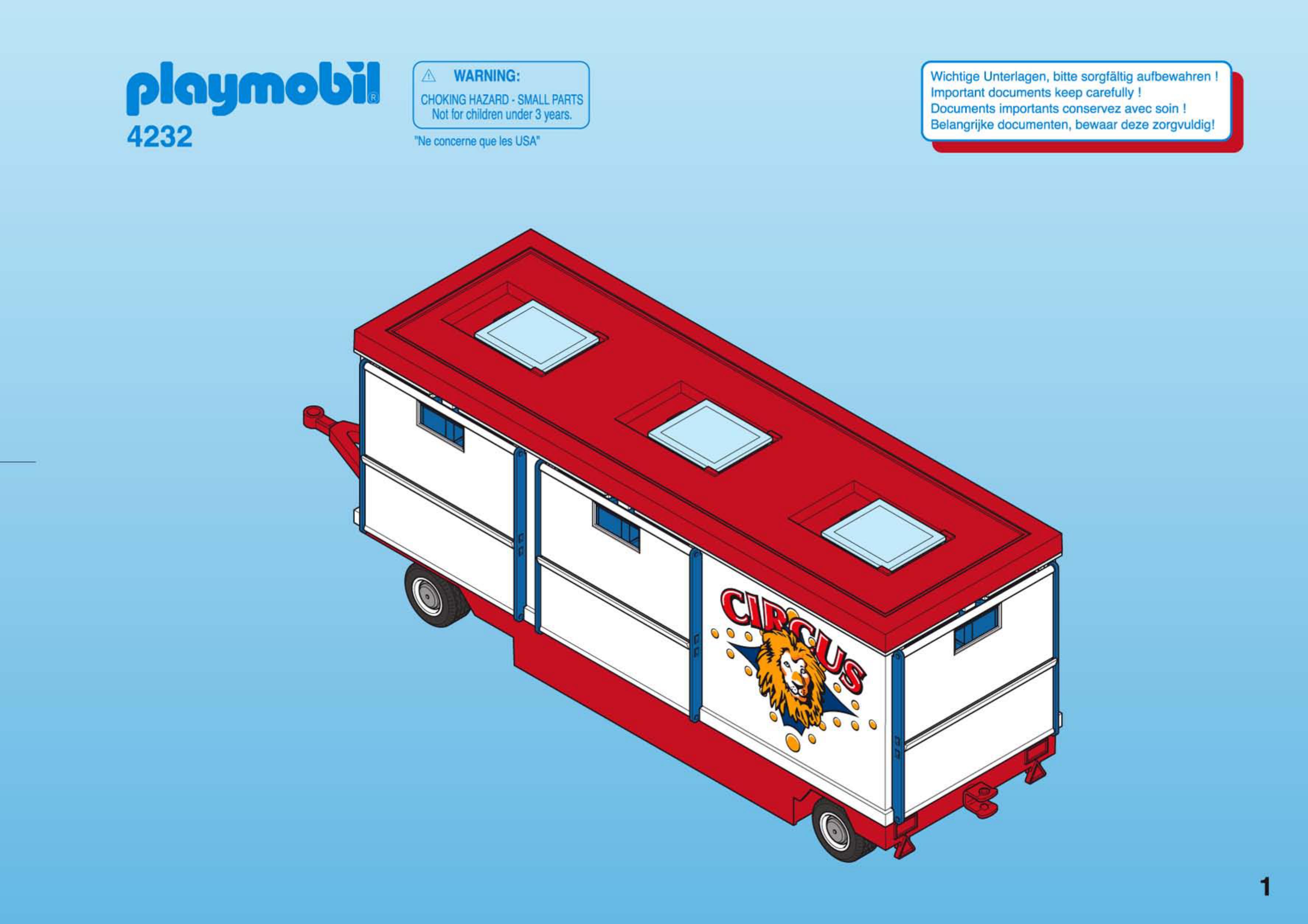 Verwonderlijk Handleiding Playmobil 4232 (pagina 1 van 12) (Nederlands) AS-09