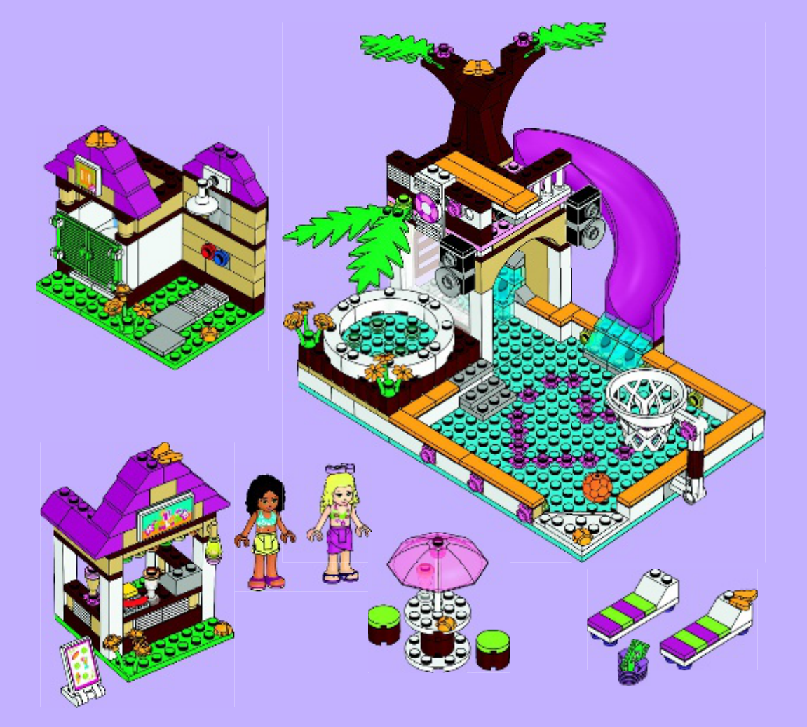 Lego Friends Heartlake City Pool Topsimages