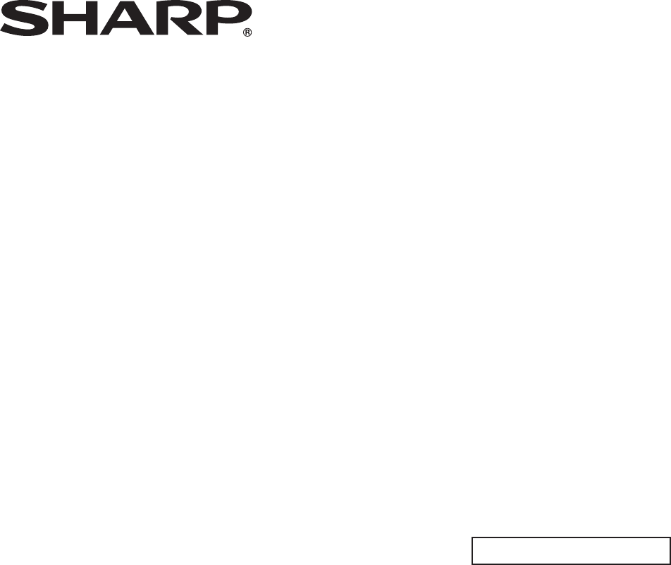 SHARP PN-L702B Touch Panel Device Driver