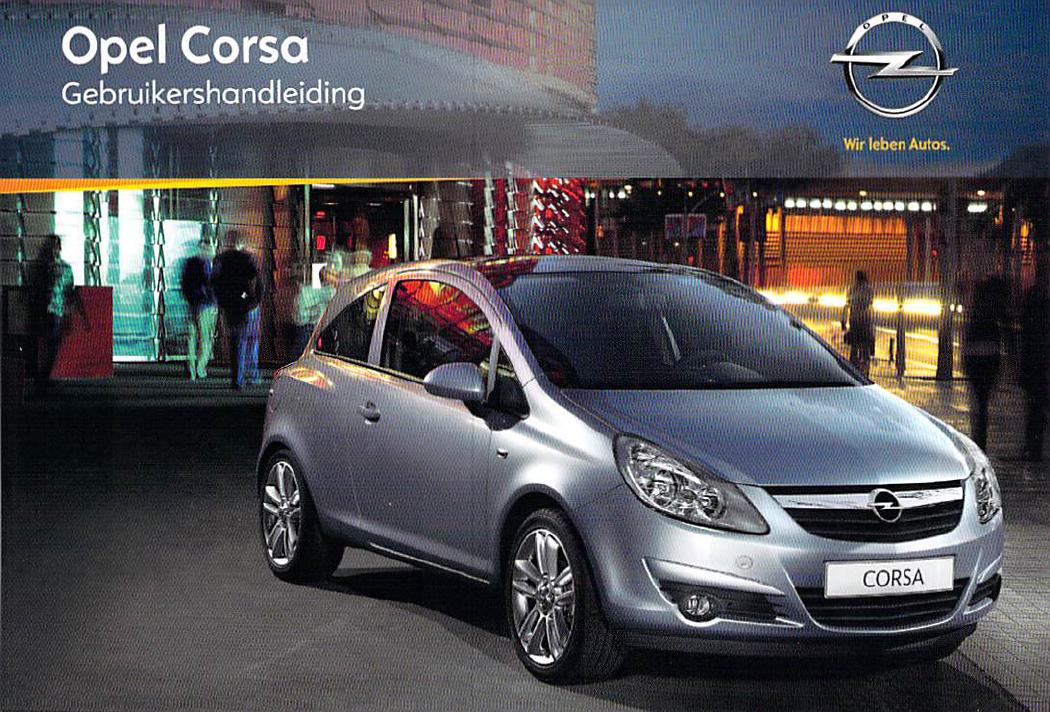 Handleiding Opel Corsa 2010 Pagina 1 Van 226 Nederlands