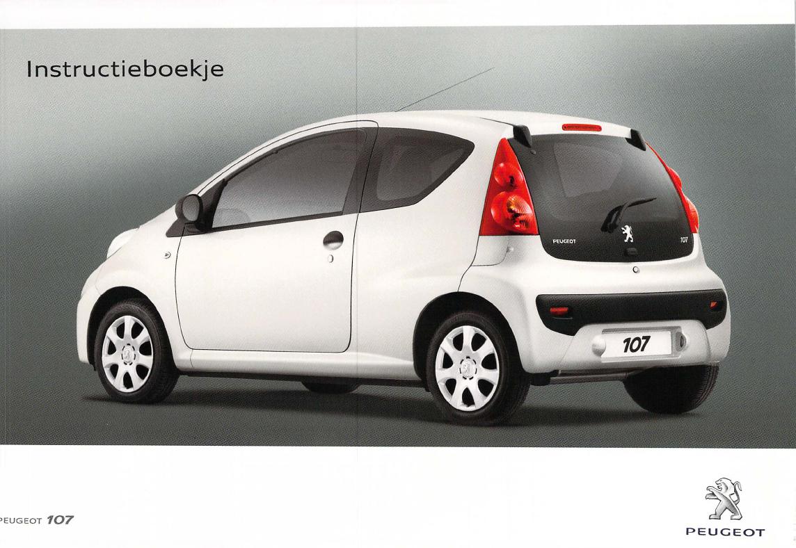 Handleiding Peugeot 107 (pagina 1 van 102) (Nederlands)