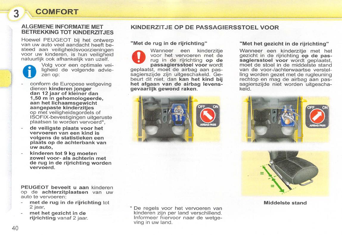 Handleiding Peugeot 107 (pagina 42 van 102) (Nederlands)