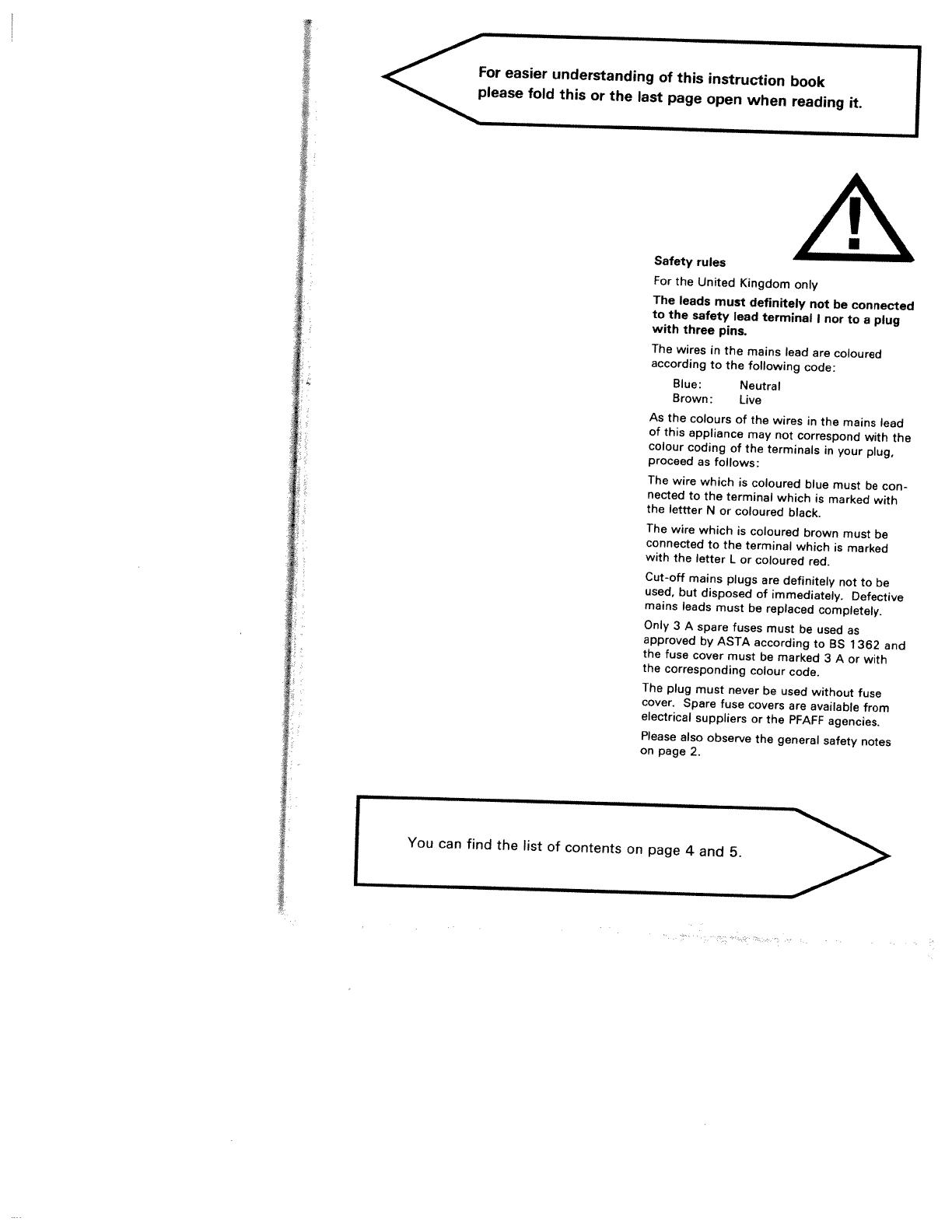 handleiding pfaff tipmatic 6120  pagina 2 van 89   english