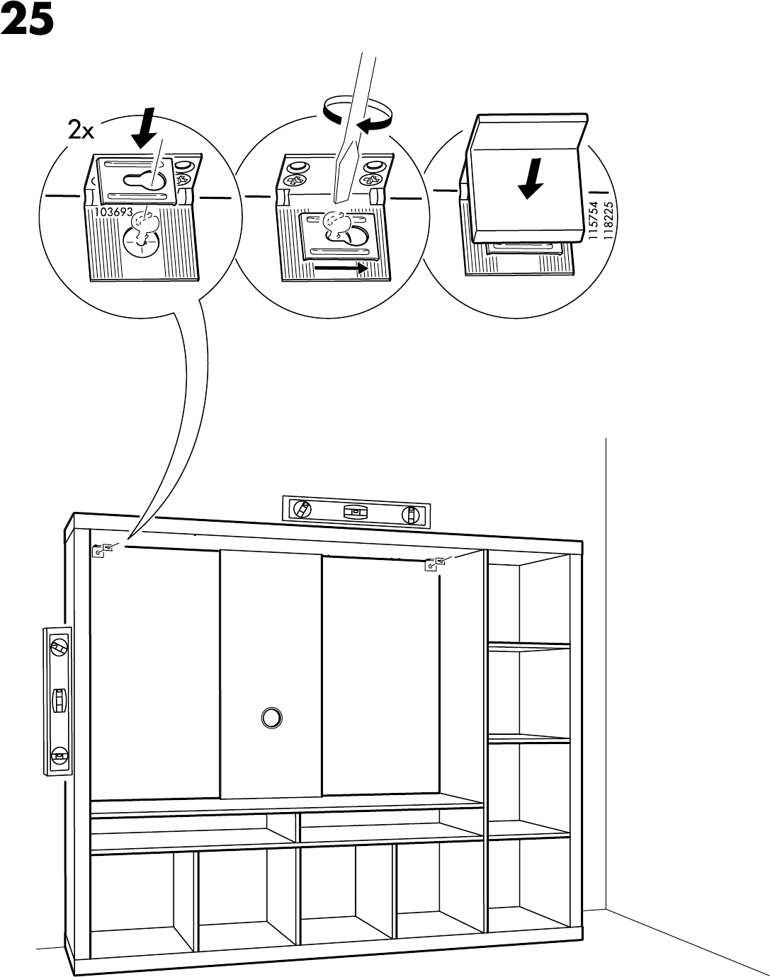 Expedit Tv Kast.Handleiding Ikea Expedit Tv Kast Pagina 25 Van 32 Alle Talen