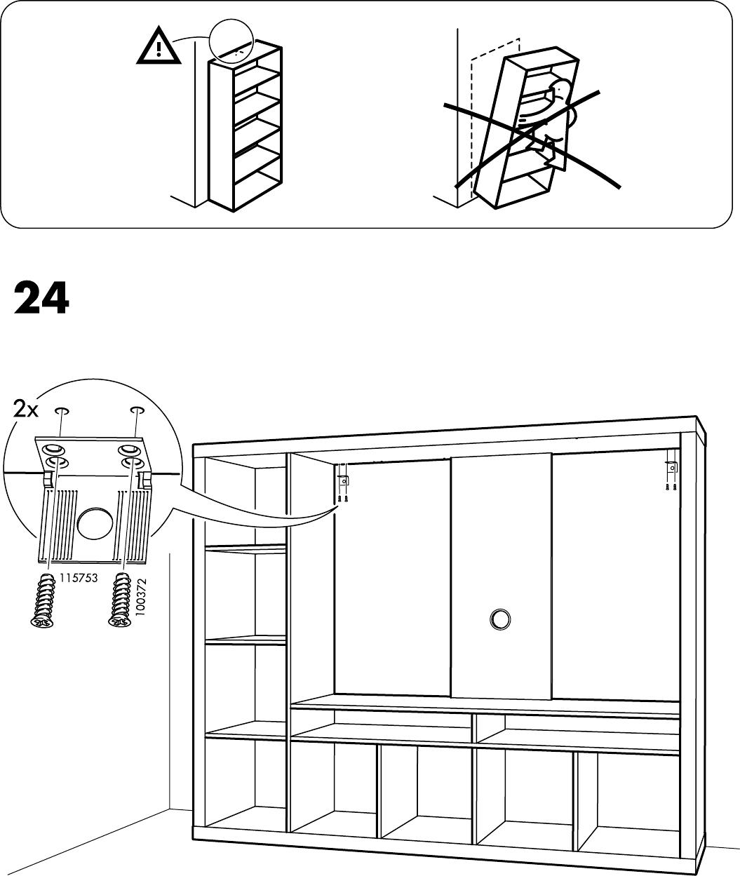 Expedit Tv Kast.Handleiding Ikea Expedit Tv Kast Pagina 31 Van 32 Alle Talen