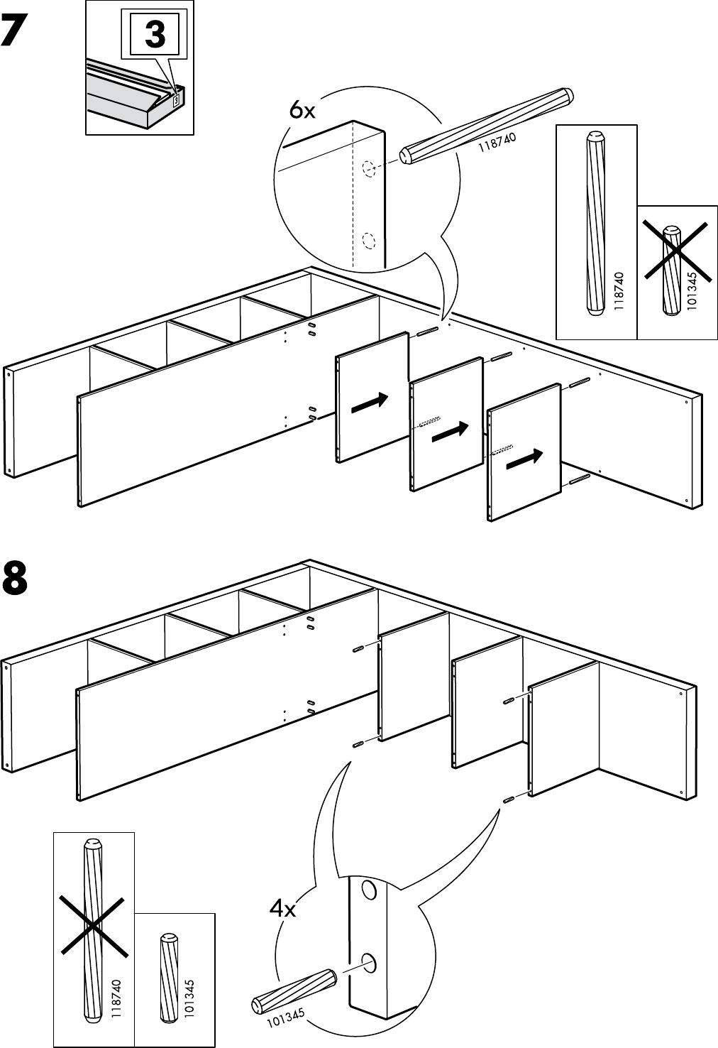 Expedit Tv Kast.Handleiding Ikea Expedit Tv Kast Pagina 14 Van 32 Alle Talen
