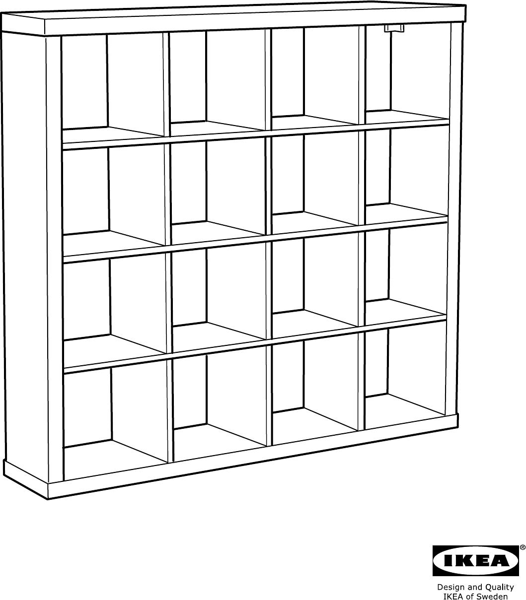 Handleiding Ikea Expedit Open Kast Pagina 1 Van 24 Alle