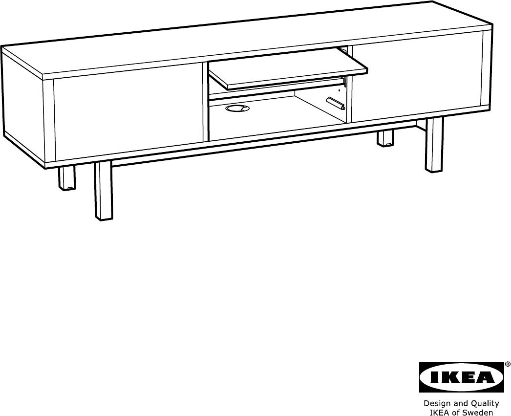 Handleiding Ikea Stockholm Tv Meubel Pagina 22 Van 28 Alle Talen  # Ikea Meuble Tv Stockholm