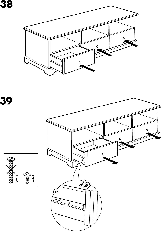 Liatorp Tv Kast.Handleiding Ikea Liatorp Tv Meubel Pagina 27 Van 28 Alle Talen