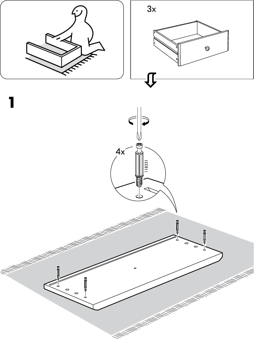 Liatorp Tv Kast.Handleiding Ikea Liatorp Tv Meubel Pagina 4 Van 28 Alle Talen