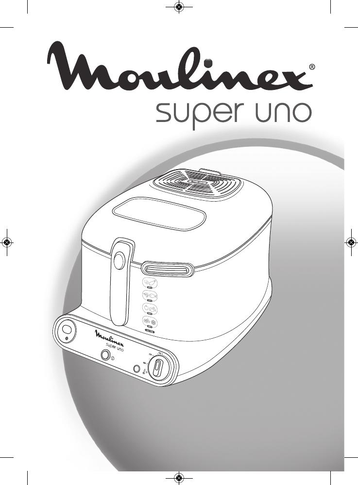 Moulinex super uno handleiding keukentafel afmetingen - Friteuse moulinex uno m blanc ...
