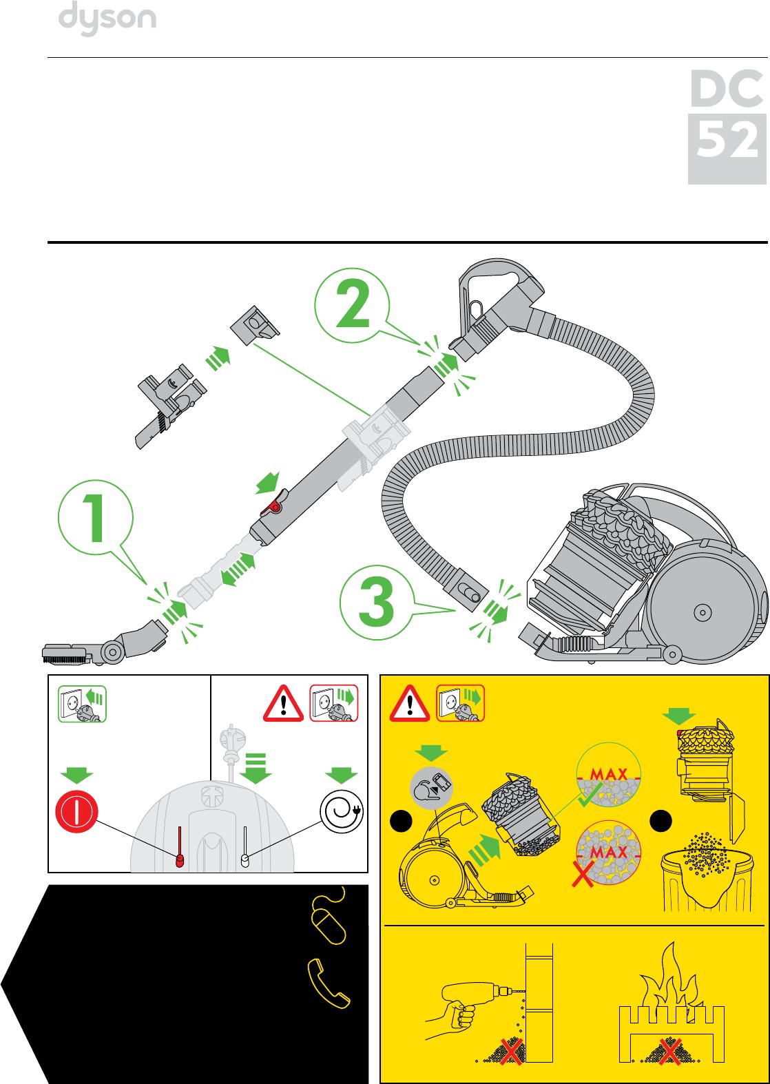 Пылесос дайсон 52 инструкция по применению дайсон юлмарт