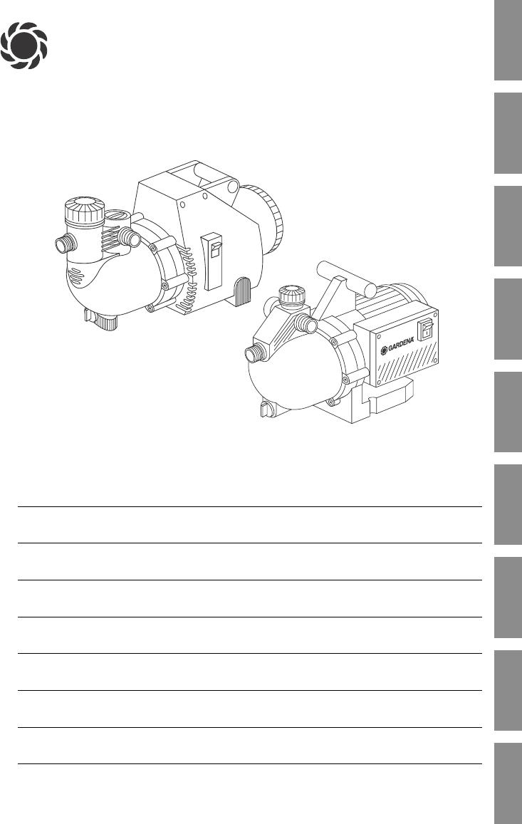handleiding gardena 4000 5 jet 1432 pagina 1 van 10. Black Bedroom Furniture Sets. Home Design Ideas