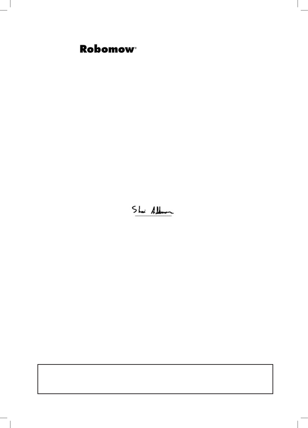 Handleiding Robomow Mc150 Pagina 2 Van 50 English 50tc Wiring Diagram 3