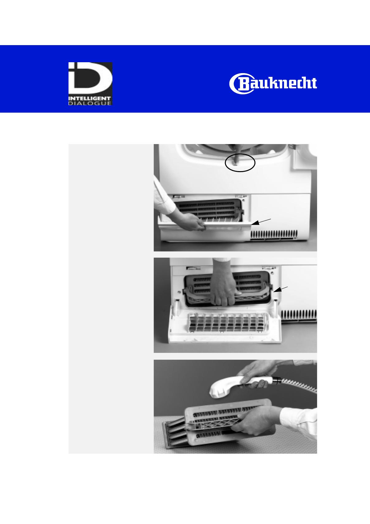handleiding bauknecht trkp 6960 pagina 7 van 8 deutsch. Black Bedroom Furniture Sets. Home Design Ideas