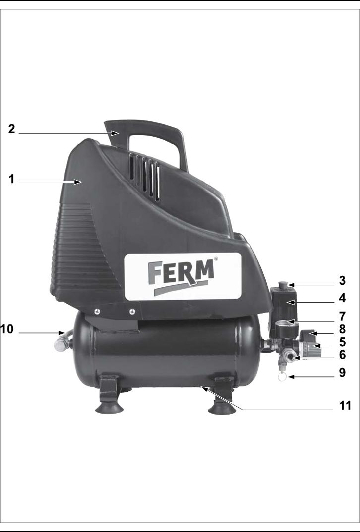 Wonderbaar Handleiding Ferm CRM1036 - 1.5HP - 1200W - 6L (pagina 1 van 32 WT-57