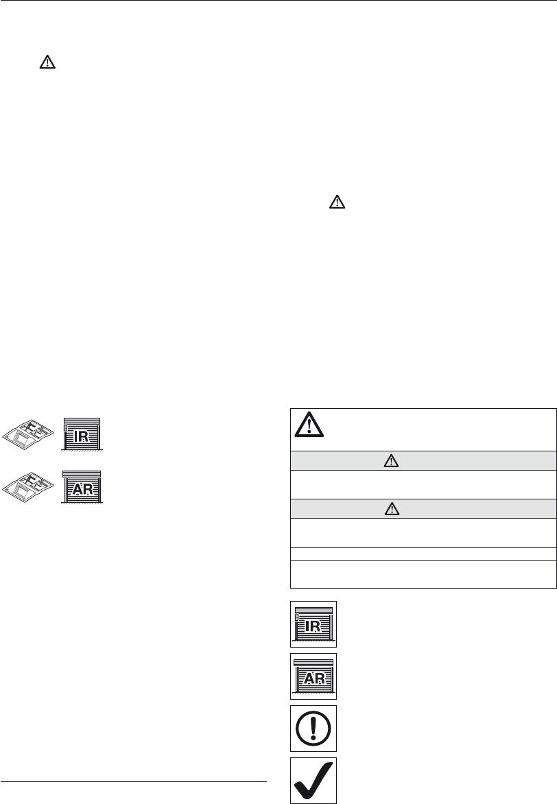 Handleiding Hormann Garageroldeur RollMatic (pagina 3 van 164) (Alle ...