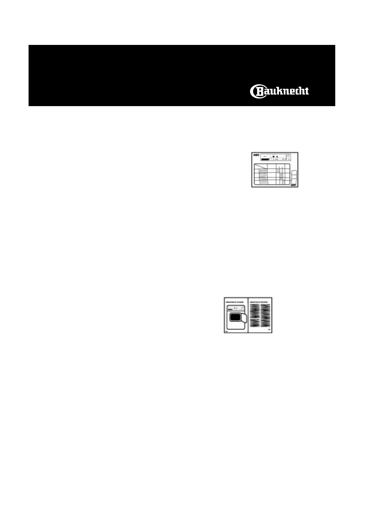 handleiding bauknecht trak stuttgart pagina 1 van 8 english. Black Bedroom Furniture Sets. Home Design Ideas