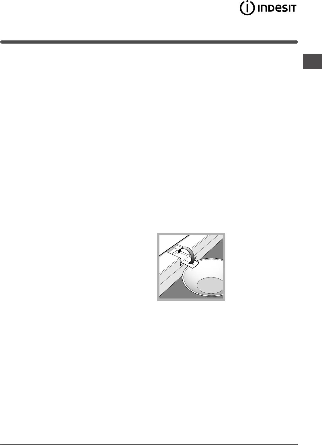 Handleiding Indesit TZA 1 (pagina 17 van 72) (Dansk, Deutsch ...