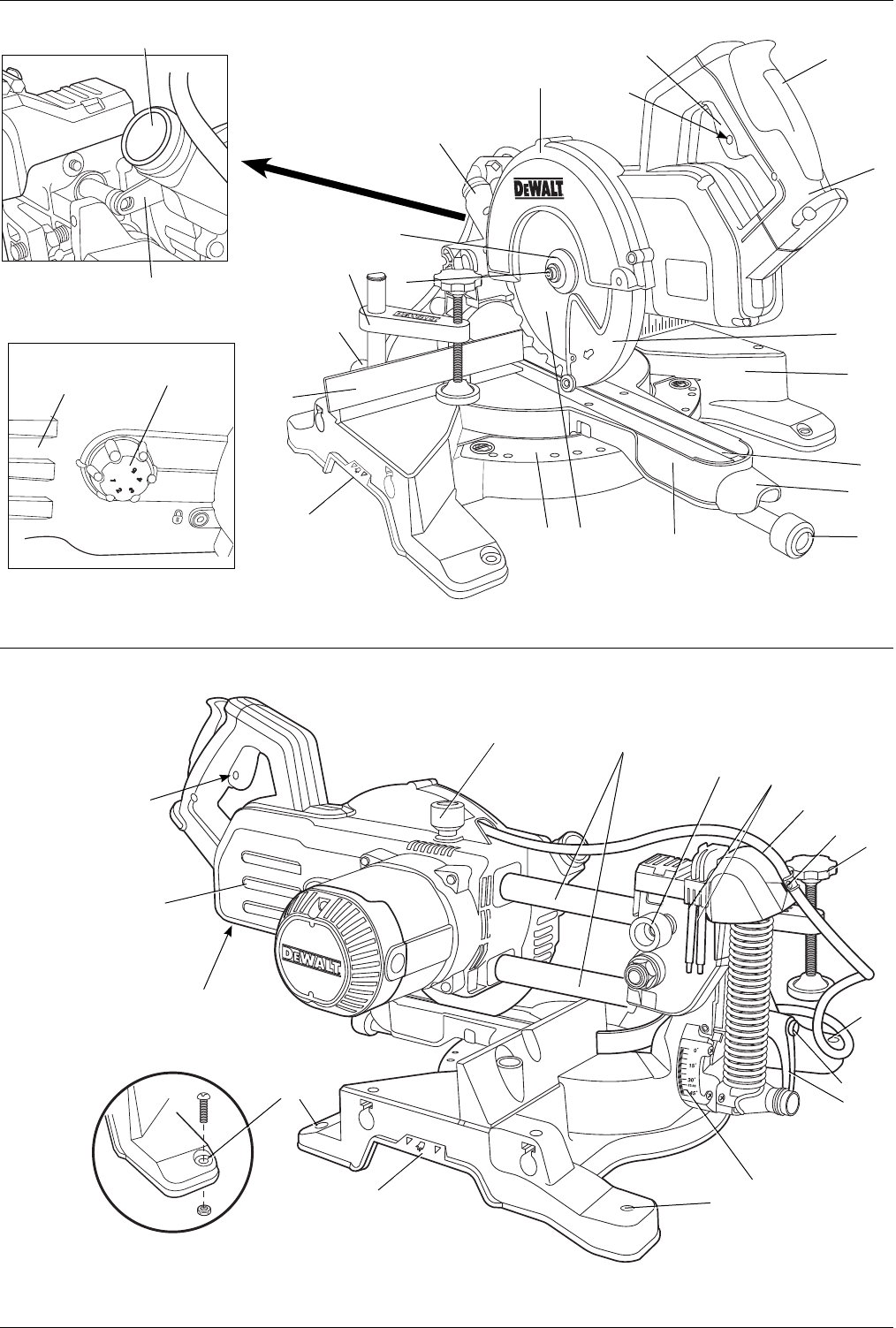 Omtalade Handleiding DeWalt DW777 T 2 (pagina 96 van 124) (Dansk, Deutsch BB-27