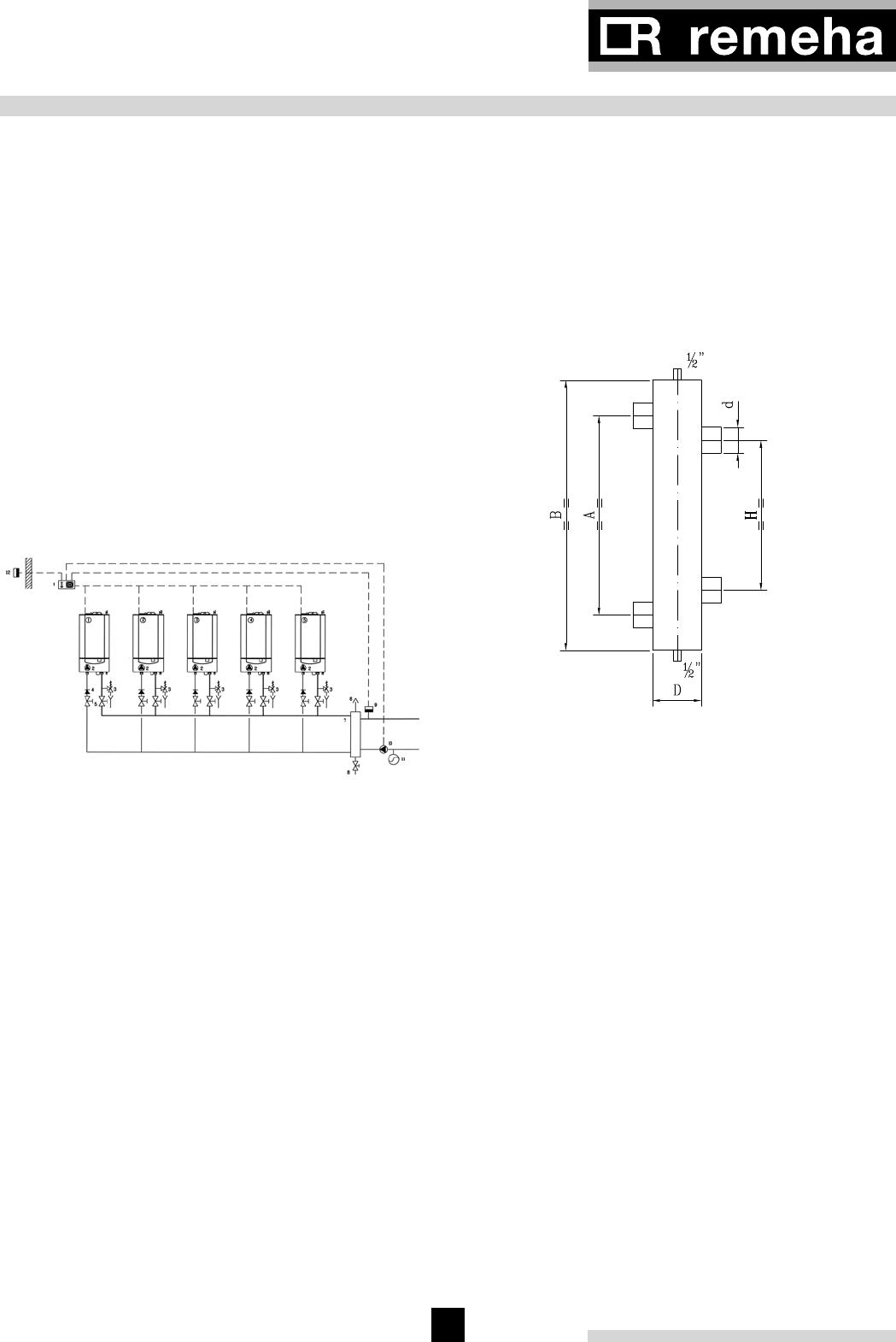 handleiding remeha cascade systeem  pagina 33 van 52