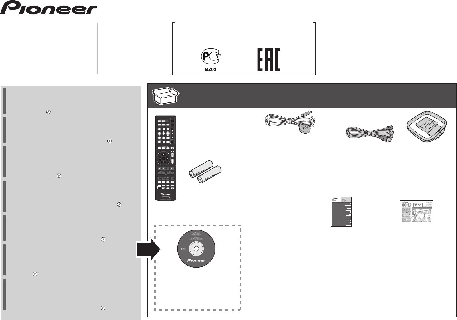 Handleiding Pioneer VSX-529 (pagina 1 van 48) (Deutsch ... on
