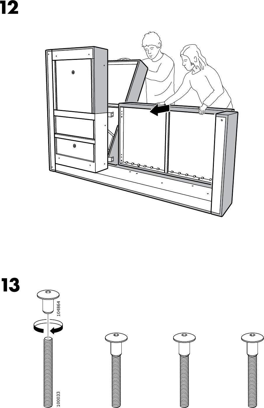 Ikea Aspelund Garderobekast Handleiding ~ Handleiding Ikea FRIHETEN (pagina 11 van 28) (1,93 mb Alle talen)