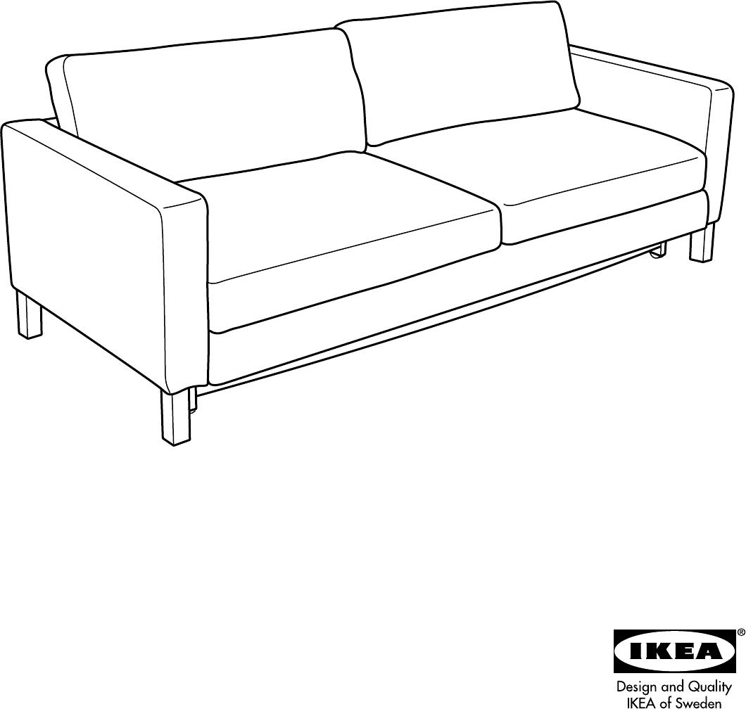 Slaapbank Karlstad Ikea.Handleiding Ikea Karlstad Pagina 1 Van 16 Alle Talen