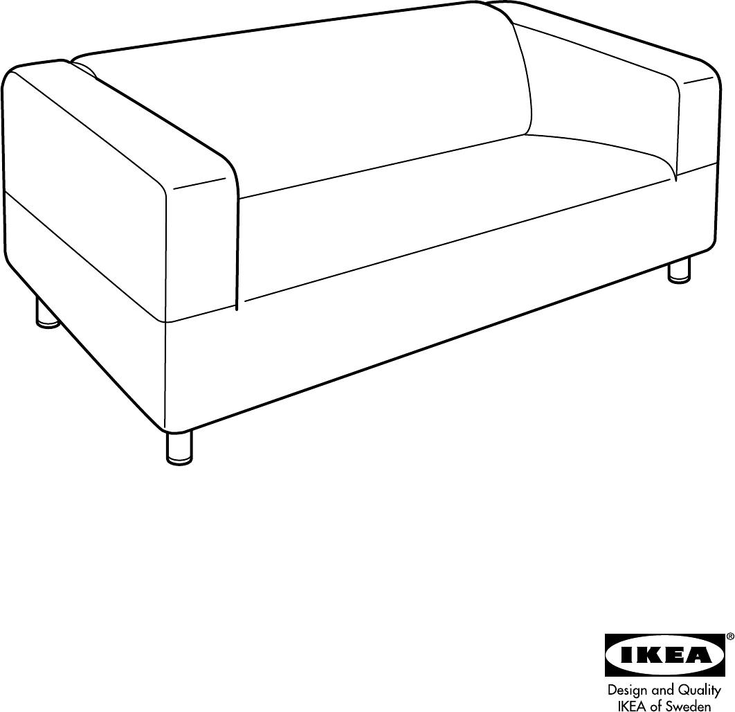 Leren Klippan Bank Ikea.Ikea Bank Doorgezakt Ikea Karlstad Bank
