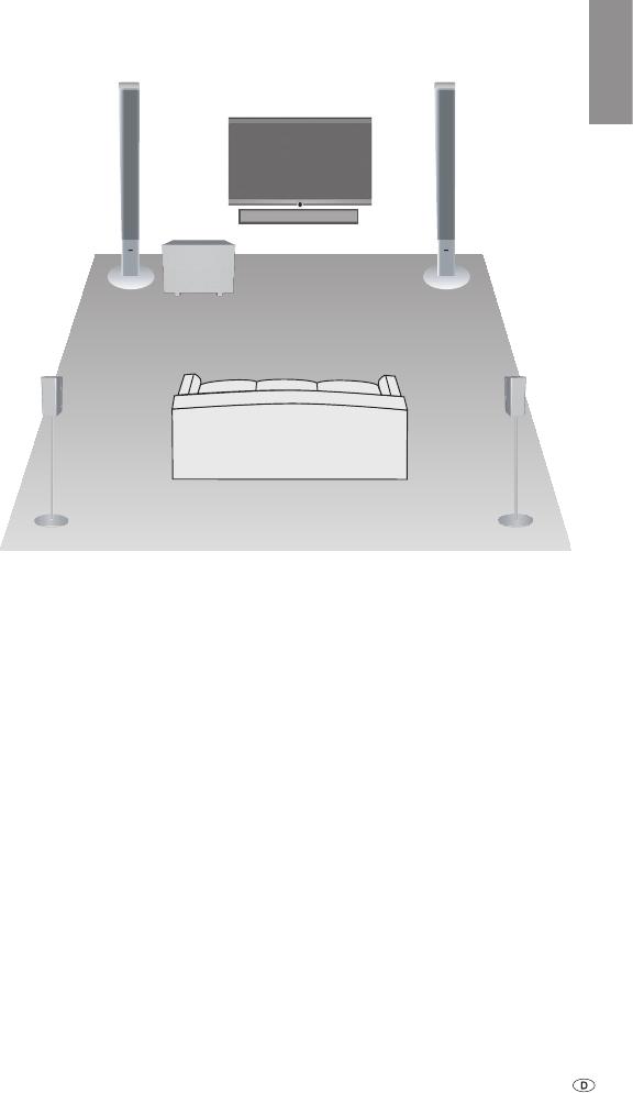 handleiding loewe subwoofer 525 pagina 5 van 62 dansk deutsch english espan l fran ais. Black Bedroom Furniture Sets. Home Design Ideas