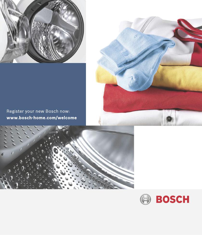 Handleiding Bosch Wae28369 Classixx 7 Pagina 1 Van 36 English Washing Machine Wiring Diagram En Instruction Manual And Installation Instructions