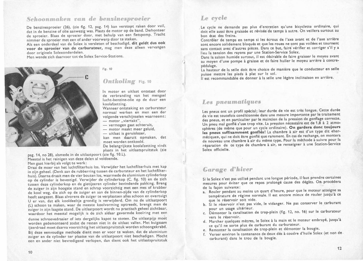 solex 3800 handboek