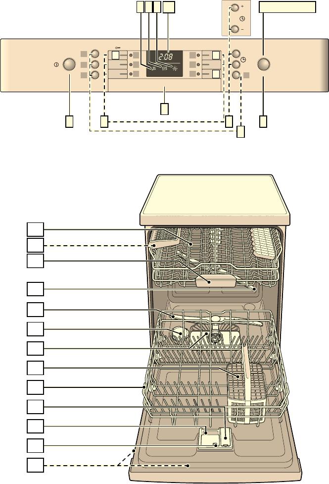 Lavastoviglie Bosch Spia Rubinetto Accesa.Handleiding Bosch Smd53m72eu Supersilence Pagina 12 Van